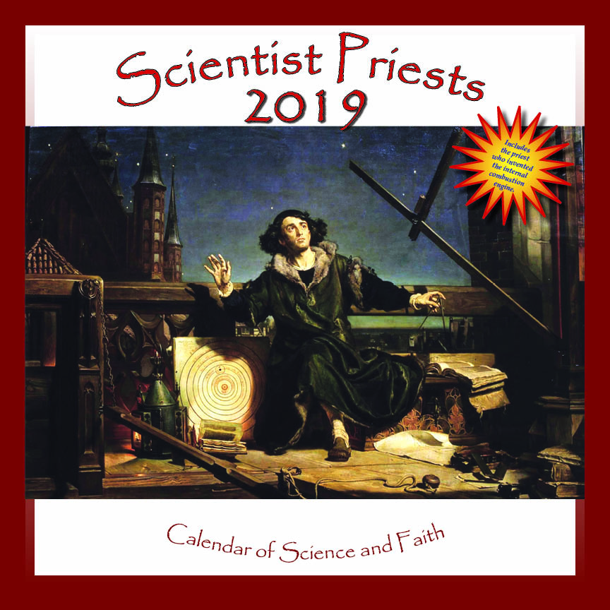 2019 Calendar of Scientist Priests